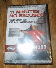 Body by Jake Tower 200 11 Minutes No Excuses DVD *BRAND NEW*