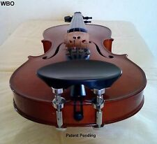 Violin Parts Height Adjustable Chinrest Flesch Patent HiClamps.EXCLUSIVE WBO