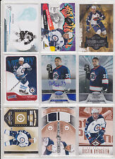 68 Card Winnipeg Jets Atlanta Thrashers Lot Byfuglien Andrew Ladd Stick Trouba