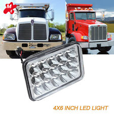 "4""x6"" LED H4656 4651 LIGHT BULB CRYSTAL CLEAR SEALED BEAM HEADLAMP HEADLIGHT 4x6"