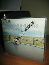 TRAVIS WHY DOES IT ALWAYS RAIN ON ME CD SINGLE NUOVO SIGILLATO