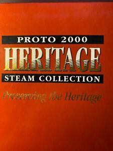 PROTO 2000 HERITAGE STEAM COLLECTION - USRA 0-8-0 Steam Locomotive