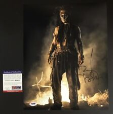 Johnny Depp Signed Autographed Pirates of the Caribbean 11x14 Photo PSA/DNA COA