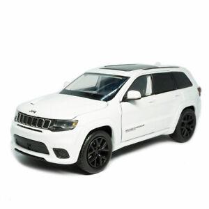 1:32 Jeep Grand Cherokee Trackhawk Model Car Diecast Toy Vehicle Kids Gift White