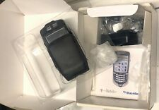 BlackBerry 7100t Complete w/ Original Box, Cables + Leather Case