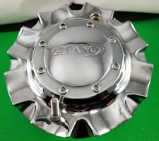GITANO  CENTER CAP # C-801 CHROME WHEELS CENTER CAP