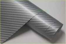 NEW 4D Carbon Fibre Vinyl Wrap Sticker Sheet Film -Looks Like Real Carbon Fibre