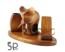 """""""Elephant"""" Desk accessories decorative carved iPhone / mobile phone table stand"""