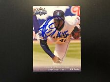 Felix Sterling In Person Signed 2013 Lake County Captains Team Set Card