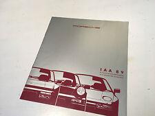 PORSCHE Prospekt 911 964 Carrera IAA 89 Prospekt #VSchub1