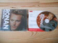 CD Pop Ronan Keating - Life Is A Rollercoaster (1 Song) Promo POLYDOR / Presskit