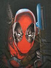 Deadpool Baton Men's Med T-Shirt Officially Licensed Marvel Comics Movie
