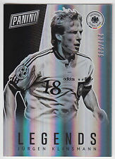 JURGEN KLINSMANN 2017 Panini National Silver Pack Legend #/299 #LEG25 Germany