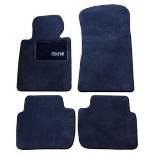 For 325i 325ci 330i 330ci E46 3-Series Genuine Carpeted Floor Mat Set Black