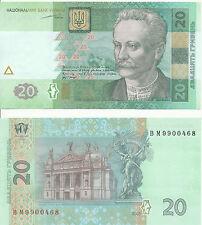Ukraine - 20 Hryven' 2003 UNC - Pick 120a