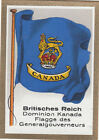 DRAPEAU British Empire britannique Dominion Canada General governor FLAG CARD 30