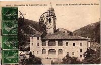 CPA Monastere de laghet (A.M) .- Route de la corniche(Environs de nice) (194724)