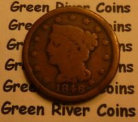 1846 Large Cent   #MQ46