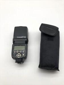 Yongnuo YN560 III Wireless LCD Flash Speedlite YN-560 III Amazing Condition