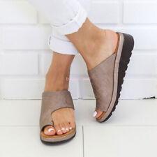 Women Comfy Platform Sandal Shoes Ankle Strap Peep Toe Correction Arch Support