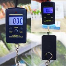 40kg Electronic Hanging Fishing Luggage Pocket Portable Digital Weight Scale GA