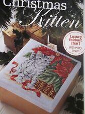 ** Noël Chaton ** cross stitch chart par Maria DIAZ **