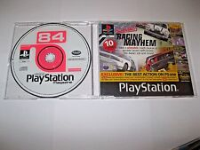 Official UK PlayStation 1 Magazine Demo 84 ~ PINK PANTHER ~ 3 x NET YAROZE GAMES