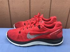 Nike 599160-600 Men's Size US 9 Red Lunarglide +5 Running Shoes A4