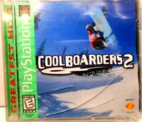 COOL BOARDERS 2, PS1 COMPLETE - Tested works!