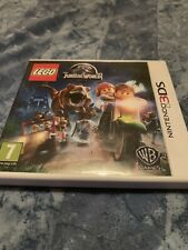 LEGO Jurassic World.  Nintendo 3DS.  Video Games.