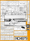 """Model Airplane Plans (FF): Howard DGA-9 48"""" Scale Rubber-Powered (Comet - 1938)"""
