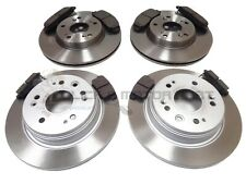 for HONDA FRV FR-V 1.7 1.8 2.0 2.2 CTDi 05-10 FRONT & REAR BRAKE DISCS AND PADS