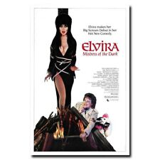 Elvira Mistress of the Dark 24x36inch Old Horror Movie Silk Poster