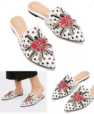 39 Or 8 Treasure Lace-Up Ballet Flats Shoes Sandals Heels