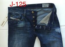 NWT-$348 DIESEL 0824L Waykee Regular-Straight  Jeans (Size-30X32/Made in Italy)