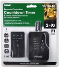 Prime Outdoor Electronic Timer with 2 Grounded Plugs and Remote Control photo