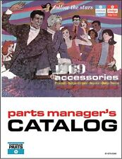 1969 Chrysler Accessories Parts Catalog Imperial 300 Newport New Yorker Accessor