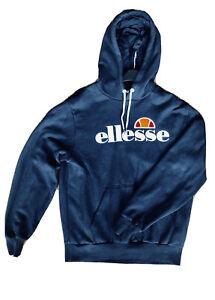 Ellesse Hoodie Jumper Pullover Hoody Sweatshirt Top Men's Clothing Size Large L