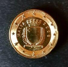 Fautée 20 centimes MALTE 2008 Coin Fissuré RARE