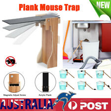 Automatic Plank Mouse Trap Mouse Mice Cage Rat Trap Reset Rodent Bucket Board