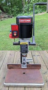Craftsman Benchtop Hollow Chisel Mortiser Machine 6 Amp 1/2 HP 152.219071