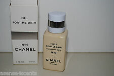 Vintage Chanel No 19 Oil For The Bath-3.0 fl. oz/89 ml
