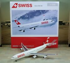 """Herpa Wings SWISS """"New Color"""" A340-300 """"Discontinued"""" 1/200"""