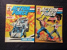 1987 Marvel UK Weekly ACTION FORCE #14 17 18 19 LOT of 4 FVF