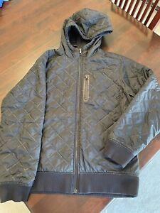 "NIKE Sportswear ""Therma-Fit"" Reversible Jacket Mens Sz M Black"