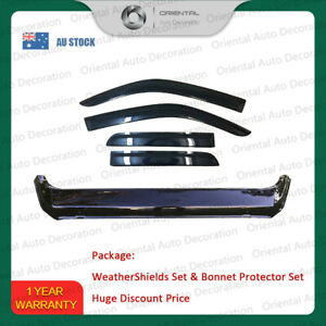 Bonnet Protector and Weathershields for Great Wall Steed Dual Cab 16+ #T