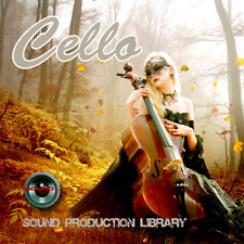 CELLO REAL - UNIQUE Perfect WAVE/NKI Multi-Layer Studio Samples Library on DVD