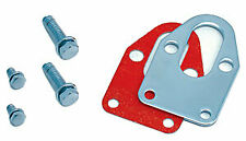 Spectre 42493 Fuel Pump Mounting Plate Fits SB-Chevy 265-400 Chrome PLated Steel