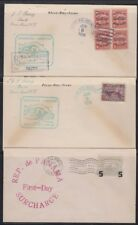 Panama, 1938-41. First Day Covers (8)