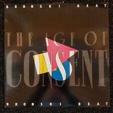 "Bronski Beat ""The Age Of Consent"" vinyl LP BITLP1 UK 1984 inner EXCELLENT+"